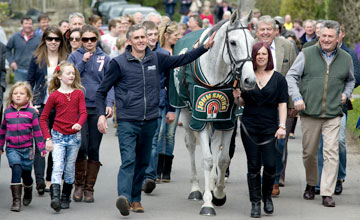 Neptune Collonges - SHEPTON MALLET, ENGLAND - APRIL 15