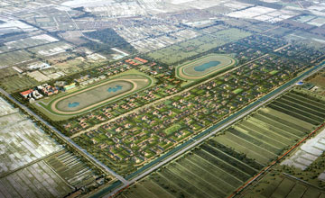 Masterplan - Tianjin equine centre in China