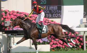 Rulership (Umberto Rispoli) wins the Audemars Piguet QEII Cup at Sha Tin