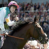 Frankel - Tom Queally - Goodwood 2012