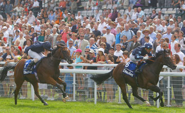 Reckless Abandon (Gerald Mosse) win the Darley Prix Morny Deauville Photo: Patrick McCann 19.08.2012