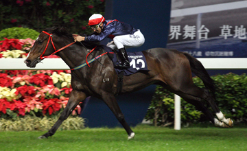 Joao Moreira partners All The Winners to prevail in the first leg of the LONGINES International Jockeys' Championship.