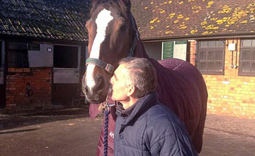 Kauto Star farewell kiss