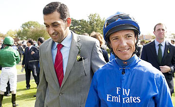 Mahmood Al Zarooni and Frankie Dettori
