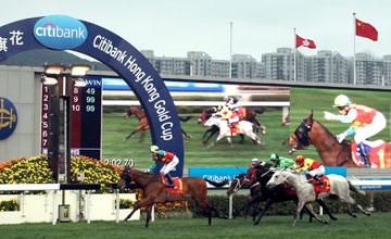 Ambitious Dragon wins Citibank HK Gold Cup