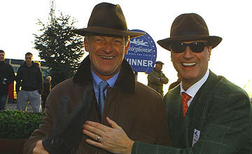 Willie Mullins (left) - Rich Ricci - Fairyhouse 2012