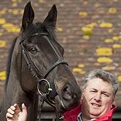 Paul Nicholls and Big Buck's