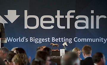 Betfair sign
