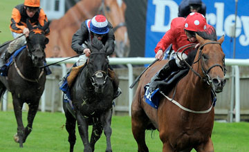 MAYSON with P Hanagan wins July Cup at Newmarket 14-7-12