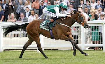 Maureen - Richard Hughes wins The Princess Margaret Juddmonte Stakes.