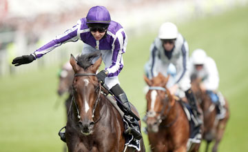 Camelot followed up his 2,000 Guineas victory in fine fashion in the Derby