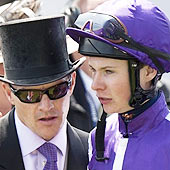 Aidan O'Brien and Joseph O'Brien - Epsom June 2012
