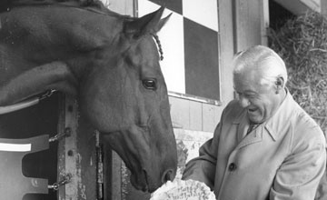 Secretariat with Lucien Laurin