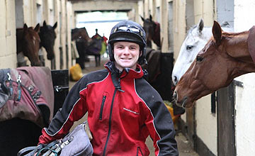 Campbell Gillies at Lucinda Russell's yard - 2011