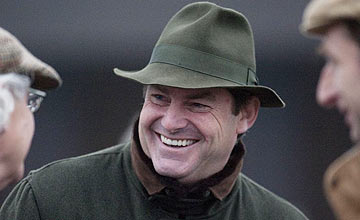 Trainer Charlie Brooks - Plumpton November 2011