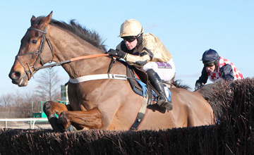 DREVER ROUTE and Denis O'Regan win at Catterick 2/3/10