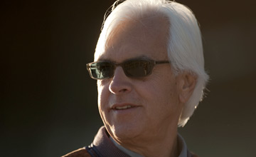 Bob Baffert: trains the favourite in the $5 million showpiece