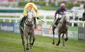 Al Ferof (Ruby Walsh) win the Paddy Power Gold Cup from Walkon nov 17 2012