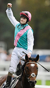 Frankel - Tom Queally - Champion Stakes - Oct 2012