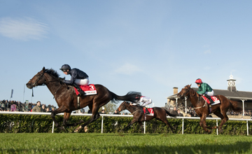 Kingsbarns (Joseph O'Brien) wins the Racing Post Trophy - Doncaster - 27.10.12