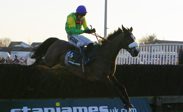 Stan James King George VI Chase. Won by No6 Kauto Star - Ruby Walsh. 26/12/08