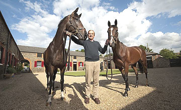 Quest For Peace - Luca Cumani - Mount Athos (right) - 2012
