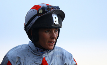 Katie Walsh Fairyhouse Photo: Patrick McCann 01.01.2012