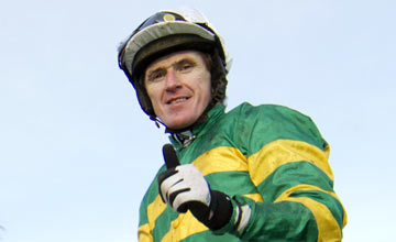 Tony McCoy in JP McManus silks