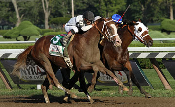 Will Take Charge upstaged more fancied rivals to win the Travers