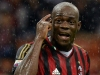 Milan forward Mario Balotelli is the club's biggest threat