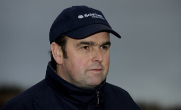 Alan King at his Barbury Castle stables in Wiltshire (November 12, 2010)