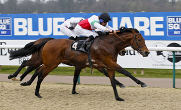 Dubai World Cup-bound Planteur won in Listed company at Lingfield on Saturday