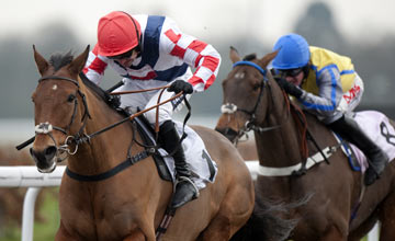 Sam Winner beats Peddlers Cross - Kempton 25.01.13