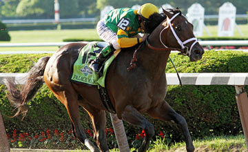 Palace Malice wins the Belmont Stakes