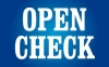 Open check