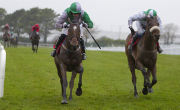 King Of Firth and Patrick Mullins win the T.V.O'Brien Memorial (Pro/Am) Flat Race from Lots Of Memories Galway