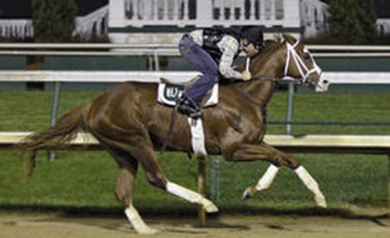Will Take Charge workout at Churchill Downs -360