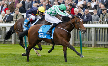 War Command - Joseph O'Brien wins from Cable Bay - Jamie Spencer The Dubai Dewhurst Stakes (Group 1)