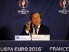 MARSEILLE FRANCE OCTOBER 17 UEFA president Michel Platini during the EURO 2016 Steering Committee Meeting on October 17 2013 in Marseille France Photo by Christophe PallotAgence ZoomGetty Images