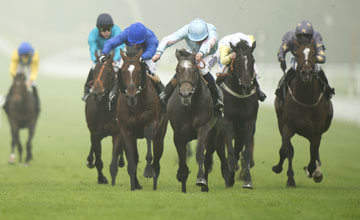 Grandeur (Ryan Moore) wins the Foundation Stakes