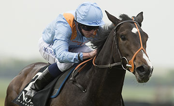 Toormore (Ryan Moore) wins the Craven stakes