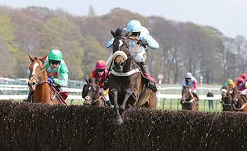 NO PLANNING wins at Haydock 19/4/14