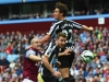 Newcastle dominated possession against Villa on Saturday