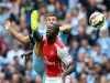 Arsenal forward Yaya Sanogo may find it hard to pierce the Besiktas defence