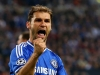 Chelsea ace Branislav Ivanovic marshals the Serbia defence