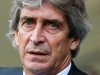 Manuel Pellegrini's Man City are facing Champions League elimination