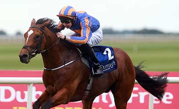 Gleneagles (Joseph O'Brien) win the Barronstown