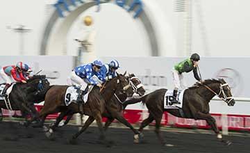 Variety Club wins the Godolphin Mile Dubai 29.3.14