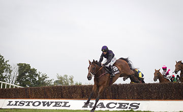 Your Busy and Katie Walsh win the Kerry National Listowel Festival Photo: Patrick McCann 17.09.2014