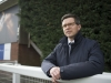 "Roger Varian at Nottingham this month ""In terms of health and condition I couldn't be happier with the horses"""